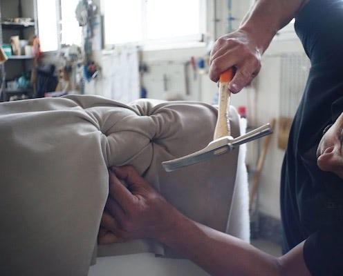 Minkštų baldų remontas ir gamyba
