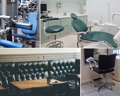 Visuomeninės paskirties baldų remontas ir gamyba